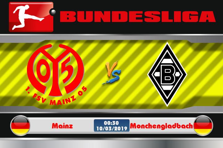 Soi kèo Mainz vs Monchengladbach 00h30 ngày 10/3: Không sợ đất khách
