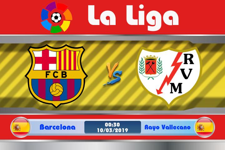 Soi kèo Barcelona vs Rayo Vallecano 00h30 ngày 10/03: Nỗi khiếp sợ