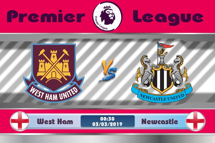 Soi kèo West Ham vs Newcastle 00h30 ngày 03/03: Yếu kém khi xa nhà