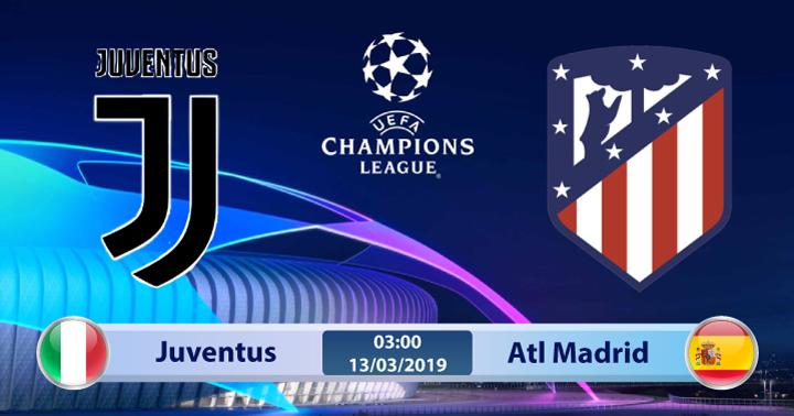 Soi kèo Juventus vs Atletico Madrid 03h00 ngày 13/03: Hết sức thận trọng