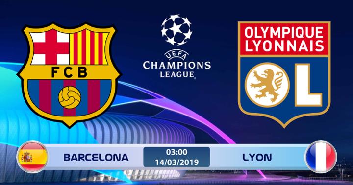 Soi kèo Barcelona vs Lyon 03h00 ngày 14/03: Lịch sử đang dần tái hiện