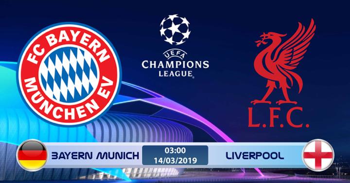 Soi kèo Bayern Munich vs Liverpool 03h00 ngày 14/03: Ngọa hổ tàng long