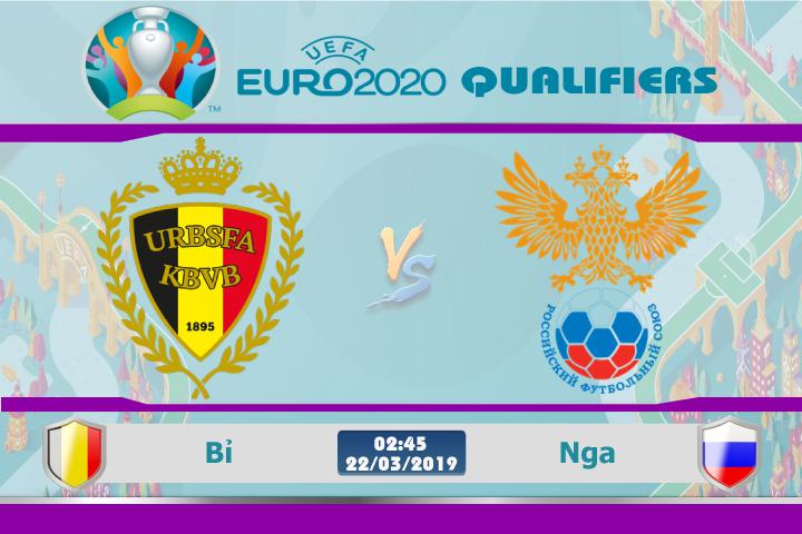 Soi kèo Euro Bỉ vs Nga 02h45 ngày 22/03: Quỷ Đỏ thị uy