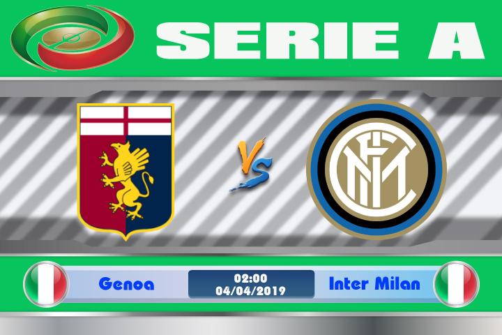 Soi kèo Genoa vs Inter Milan 02h00 ngày 04/04: Vùng đất bị nguyền rủa