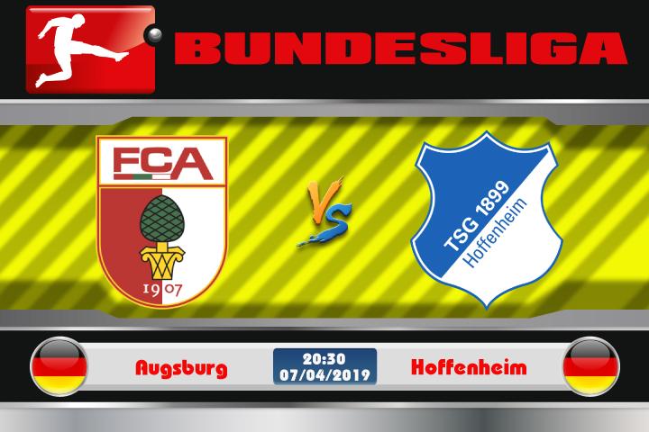 Soi kèo Augsburg vs Hoffenheim 20h30 ngày 07/04: Hay bị bắt nạt