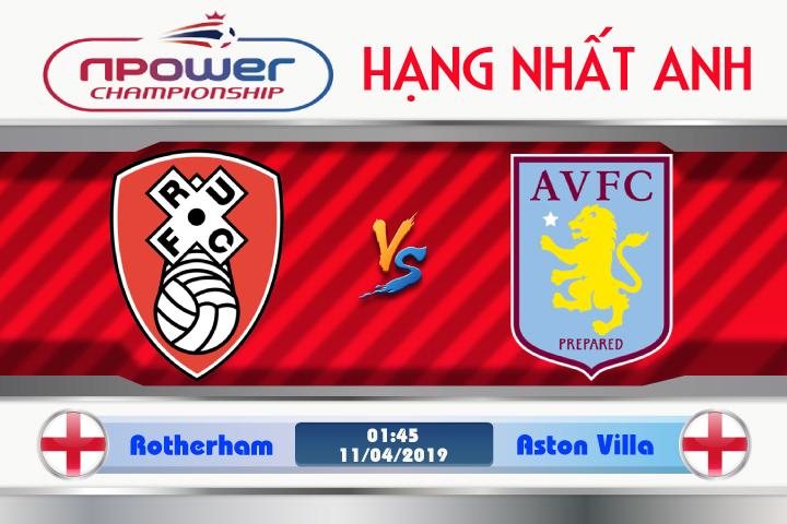 Soi kèo Rotherham vs Aston Villa 01h45 ngày 11/04: Qua rồi cuộc vui
