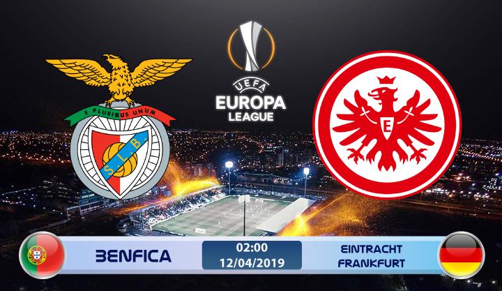 Soi kèo Benfica vs Eintracht Frankfurt 02h00 ngày 12/04: Kết quả khó lường