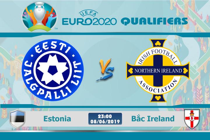 Soi kèo Estonia vs Bắc Ireland 23h00 ngày 08/06: Khắc phục điểm yếu