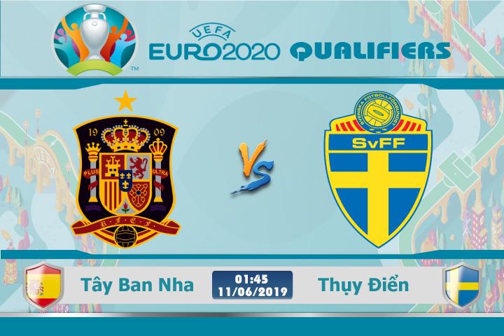 Soi kèo Tây Ban Nha vs Thụy Điển 01h45 ngày 09/06: Đối thủ nặng ký