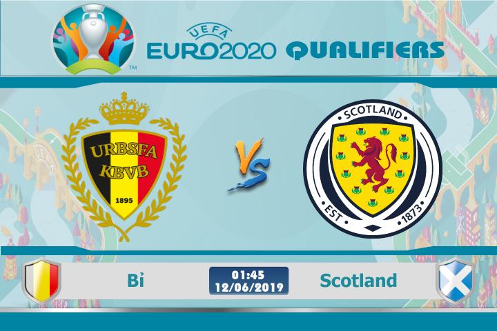 Soi kèo Bỉ vs Scotland 01h45 ngày 09/06: Khó lòng cản bước Quỷ Đỏ