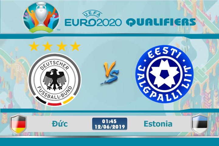 Soi kèo Đức vs Estonia 01h45 ngày 12/06: Giấc mơ tháo xích xe tăng
