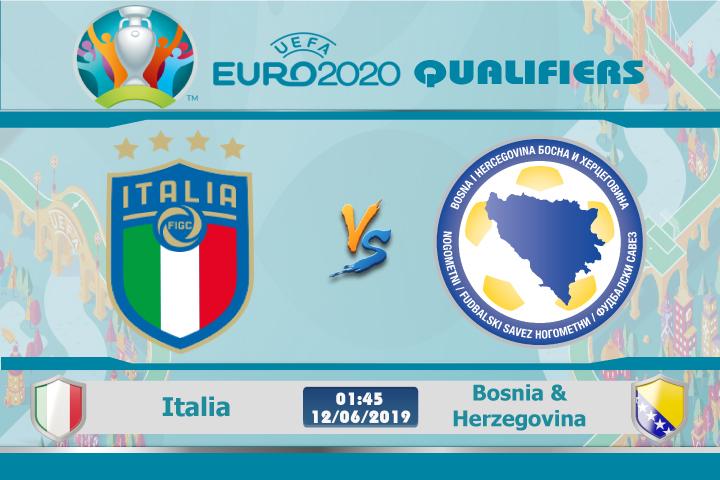 Soi kèo Italia vs Bosnia & Herzegovina 01h45 ngày 12/06: Bão thiên thanh