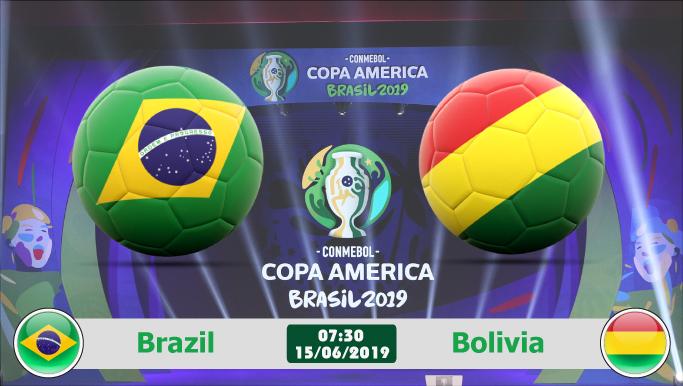 Soi kèo Brazil vs Bolivia 07h30 ngày 15/06: Chủ nhà mở màn