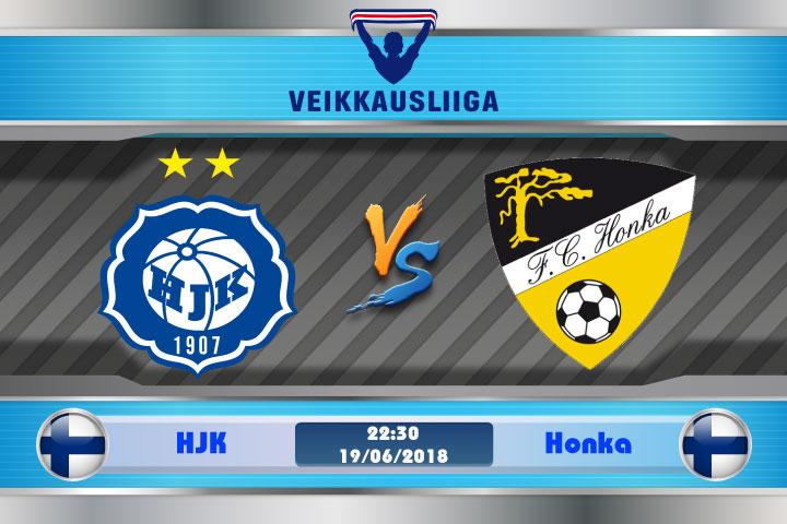 Soi kèo HJK vs Honka 22h30 ngày 19/06: Không ngại đất khách