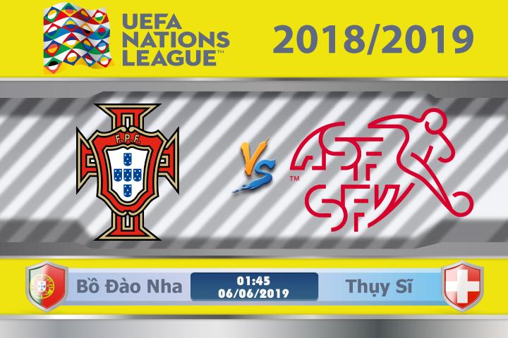 Soi kèo Bồ Đào Nha vs Thụy Sĩ 01h45 ngày 06/06: Đối thủ đáng gờm