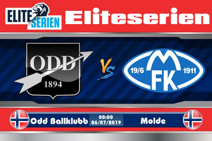 Soi kèo Odd Ballklubb vs Molde 00h00 ngày 06/07: Ngôi đầu lung lay