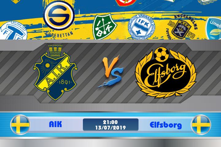 Soi kèo AIK vs Elfsborg 21h00 ngày 13/07: Đối thủ ưa thích