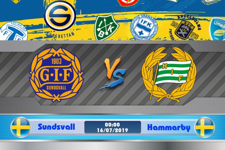 Soi kèo Sundsvall vs Hammarby 00h00 ngày 16/07: Quá khứ ảm đạm