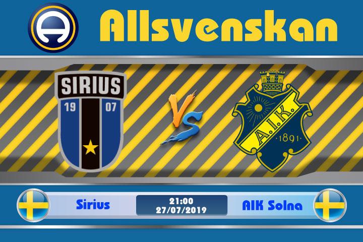 Soi kèo Sirius vs AIK Solna 21h00 ngày 28/07: Bóng tối bao trùm
