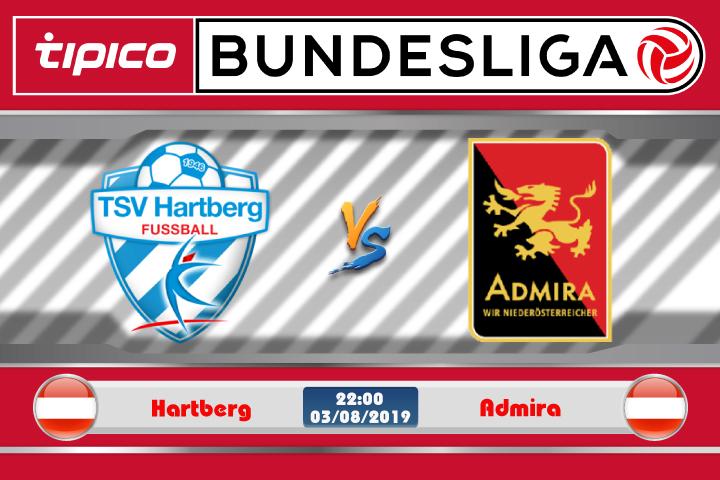 Soi kèo Hartberg vs Admira 22h00 ngày 03/08: Chiến thắng đầu tiên