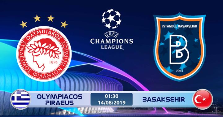 Soi kèo Olympiacos Piraeus vs Basaksehir 01h30 ngày 14/08: Nguy cơ bị loại