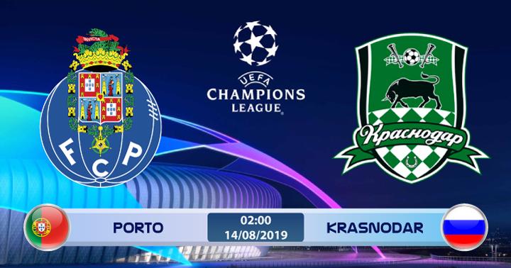 Soi kèo Porto vs Krasnodar 02h00 ngày 14/08: Kinh nghiệm vượt trội