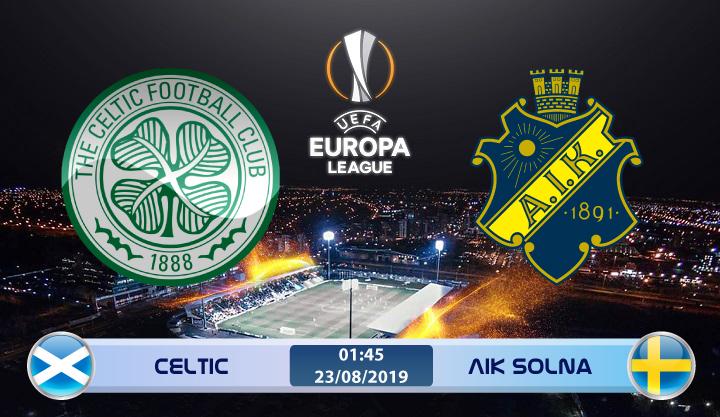 Soi kèo Celtic vs AIK Solna 01h45 ngày 23/08: Đánh mất phong độ