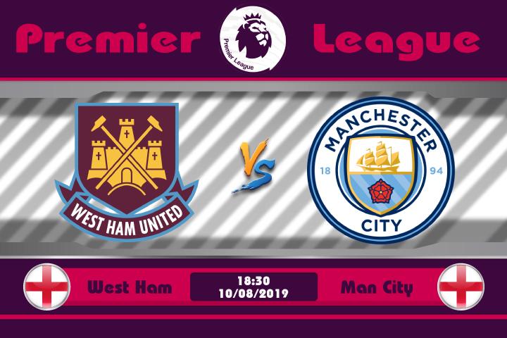 Soi kèo West Ham vs Man City 18h30 ngày 10/08: Oan gia ngõ hẹp