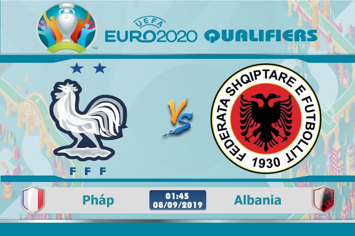 Soi kèo Pháp vs Albania 01h45 ngày 08/09: Đẳng cấp nhà vô địch