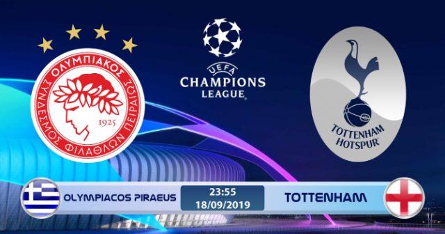 Soi kèo Olympiacos Piraeus vs Tottenham 23h55 ngày 18/9: Gà trống gáy