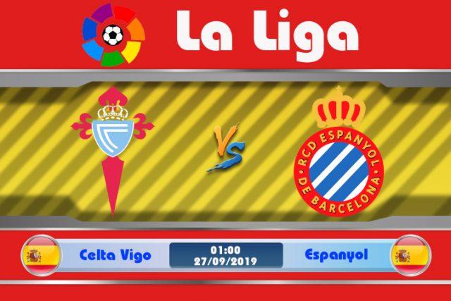 Soi kèo Celta Vigo vs Espanyol 01h00 ngày 27/09: Khó lòng chiến thắng