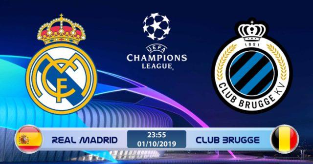 Soi kèo Real Madrid vs Club Brugge 23h55 ngày 01/10: Lấy lại thể diện