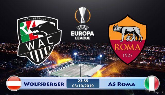 Soi kèo Wolfsberger vs AS Roma 23h55 ngày 03/10: Không thể chủ quan