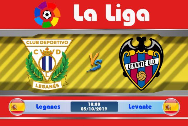 Soi kèo Leganes vs Levante 18h00 ngày 05/10: Cơ hội ghi điểm
