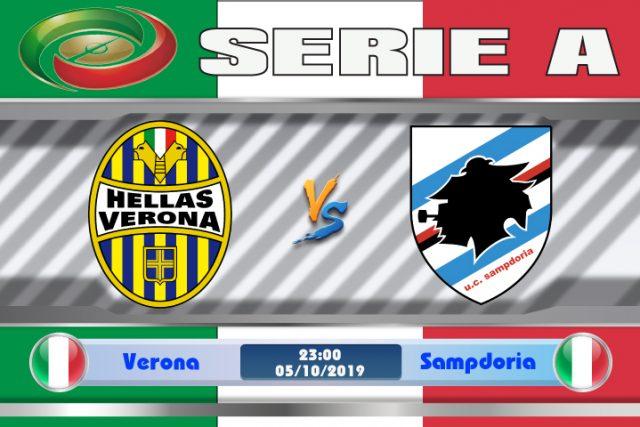 Soi kèo Verona vs Sampdoria 23h00 ngày 05/10: Yếu kém như nhau