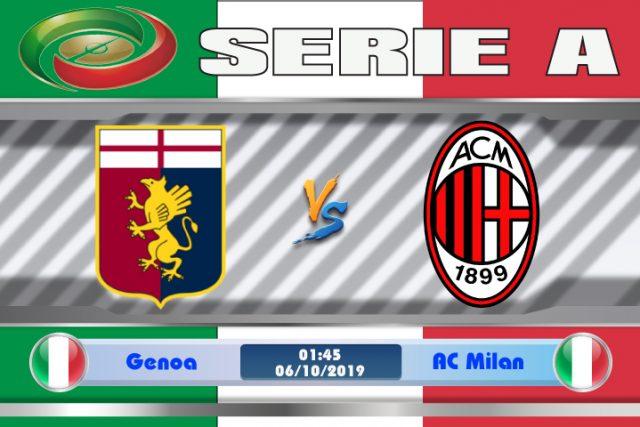 Soi kèo Genoa vs AC Milan 01h45 ngày 06/10: Cơ hội vươn lên