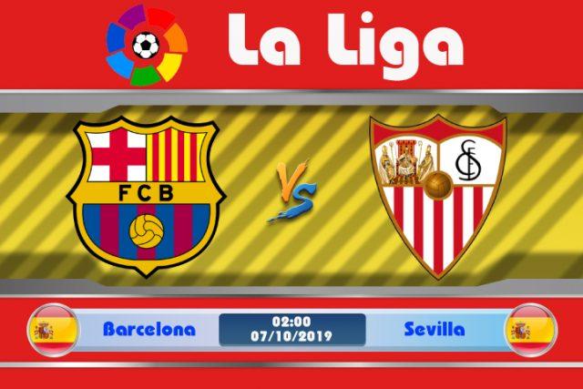 Soi kèo Barcelona vs Sevilla 02h00 ngày 07/10: Vùng đất quỷ dữ