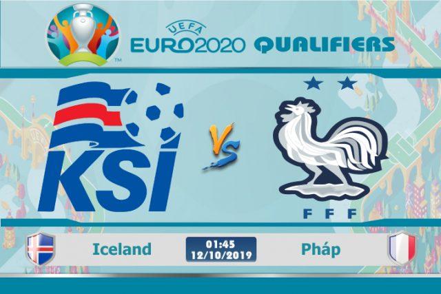 Soi kèo Euro Iceland vs Pháp 01h45 ngày 12/10: Đẳng cấp nhà vô địch