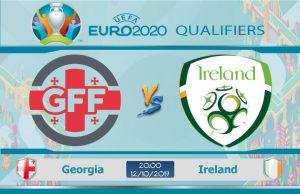 Soi kèo Euro Georgia vs Ireland 20h00 ngày 12/10: Không được chủ quan