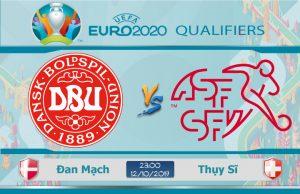 Soi kèo Euro Đan Mạch vs Thụy Sĩ 23h00 ngày 12/10: Cân tài cân sức