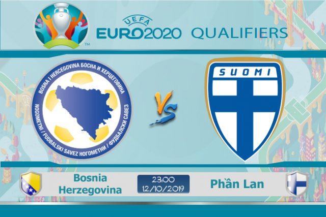 Soi kèo Euro Bosnia Herzegovina vs Phần Lan 23h00 ngày 12/10: Ngang cơ