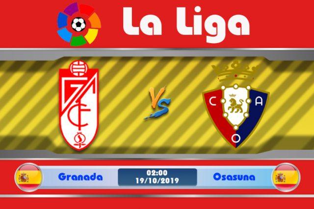 Soi kèo Granada vs Osasuna 02h00 ngày 19/10: Bất bại trên sân nhà