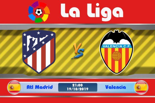 Soi kèo Atletico Madrid vs Valencia 21h00 ngày 19/10: Ám ảnh còn đó