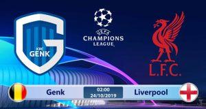Soi kèo Genk vs Liverpool 02h00 ngày 24/10: Chủ nhà gặp khó