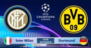 Soi kèo Inter Milan vs Dortmund 02h00 ngày 24/10: Định đoạt cục diện