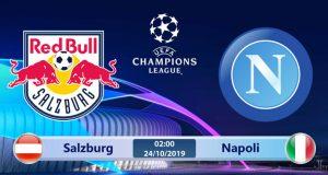 Soi kèo Salzburg vs Napoli 02h00 ngày 24/10: Ký ức khó quên