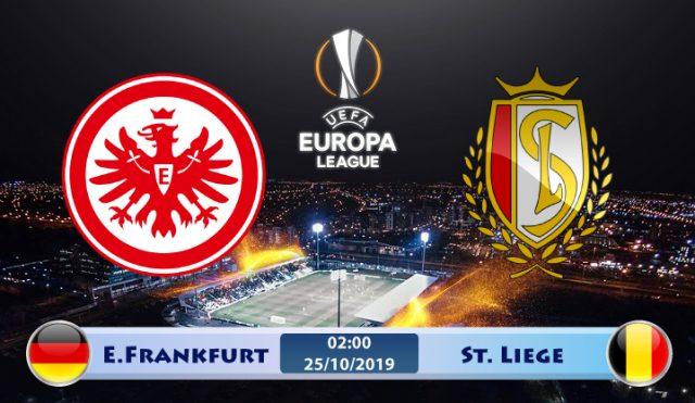 Soi kèo Eintracht Frankfurt vs St Liege 02h00 ngày 25/10: Trận cầu then chốt