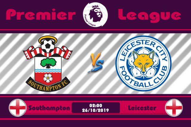 Soi kèo Southampton vs Leicester 02h00 ngày 26/10: Bầy Cáo làm loạn