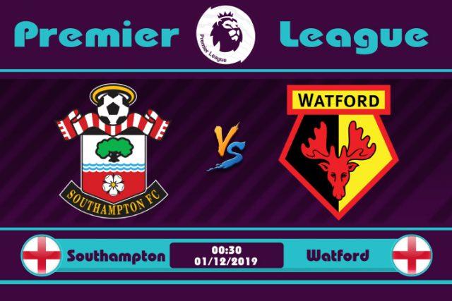 Soi kèo Southampton vs Watford 00h30 ngày 01/12: Cuối bảng so tài