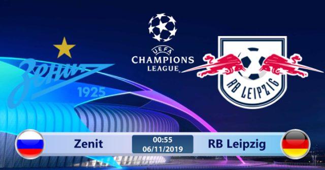 Soi kèo Zenit vs RB Leipzig 00h55 ngày 06/11: Tự tin có thừa